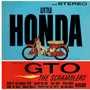 LP「LITTLE HONDA featuring GTO」The Scramblers