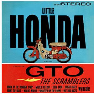 LP「LITTLE HONDA featuring GTO」The Scramblers